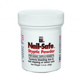 Кровоостанавливающая пудра PPP Nail-Safe Styptic Powder, 42гр
