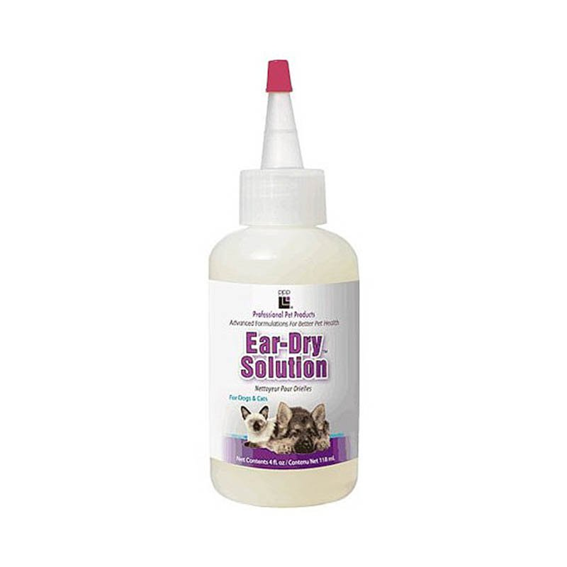 Средство для очищения и просушки ушного канала PPP Ear-Dry Solution, 118мл