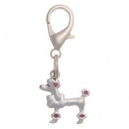 """Адресник для собак """"Пудель"""" (1.8х1.7см), V.I.Pet 19008"""
