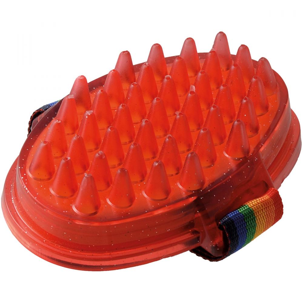 Щетка резиновая на руку для мытья животных, V.I.Pet 3356