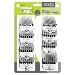 Набор магнитных насадок на ножи для стрижки (8 шт) Andis 65875, стандарт A5