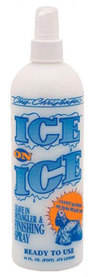 Кондиционирующий, финишный спрей Chris Christensen Ice On Ice, 473мл