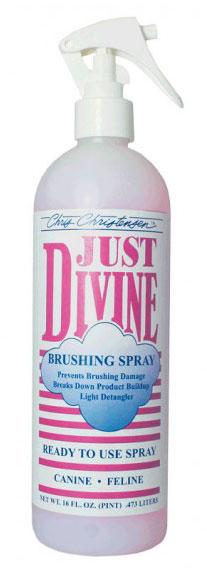 Спрей для расчесывания, нейтрализующий Chris Christensen Just Divine Brushing, 473мл