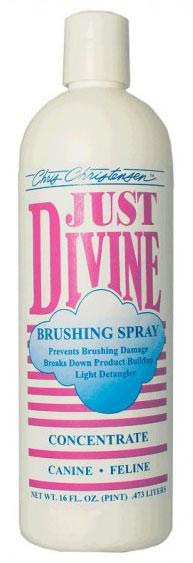 Спрей для расчесывания (концентрат 1:4) Chris Christensen Just Divine Brushing, 473мл