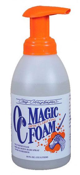 Пена для моментальной очистки шерсти Chris Christensen Magic Foam, 530мл