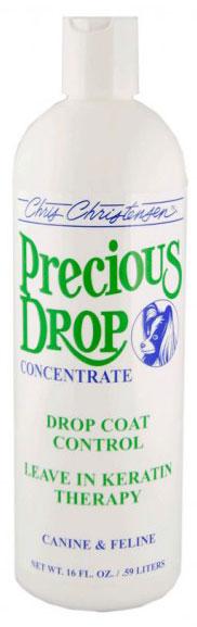 Кератиновый спрей для ниспадающей шерсти (концентрат 1:4), Chris Christensen Precious Drop, 473мл