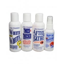 Пробный набор для отбеливания или яркости шерсти Chris Christensen White on White System Kit