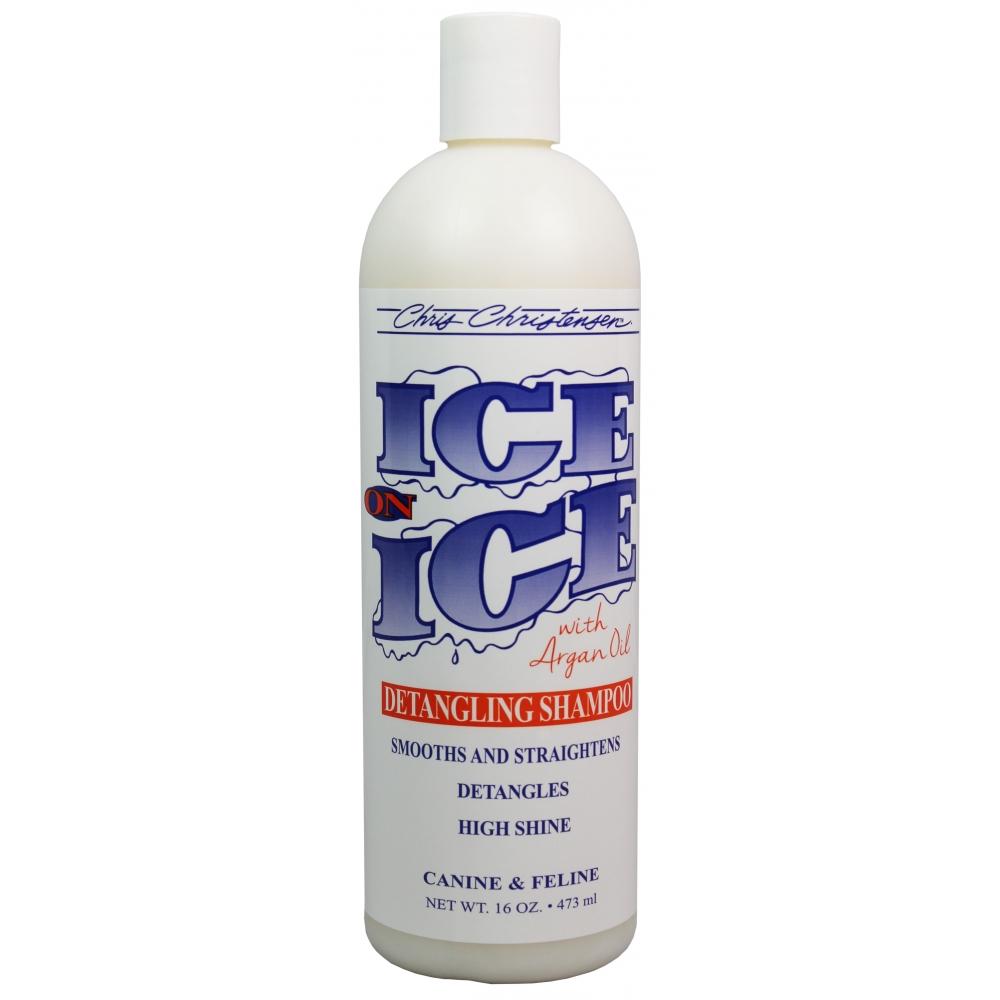 Шампунь от колтунов Chris Christensen Ice on Ice, 473мл