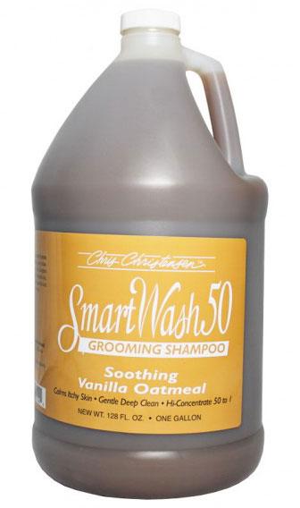 Шампунь с ароматом ванили (концентрат 1:50), Chris Christensen Vanilla Oatmeal, 3.8л