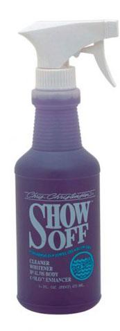 Шампунь без смывания, обновление цвета и яркость Chris Christensen Show Off, 473мл