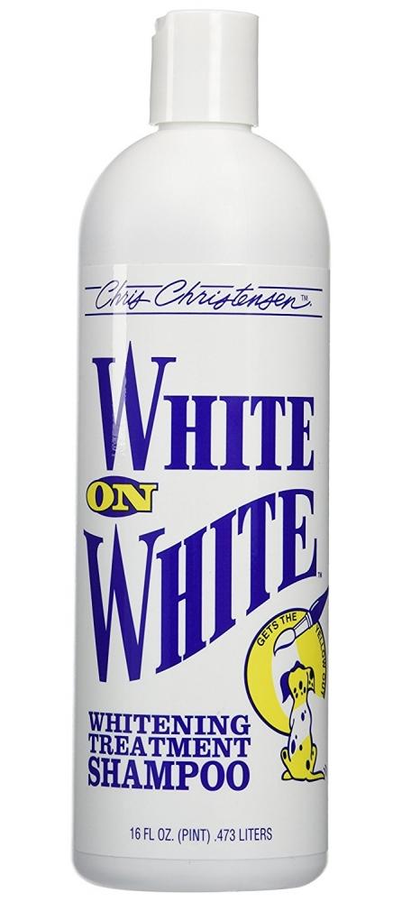 Шампунь отбеливающий Chris Christensen White on White, 473мл