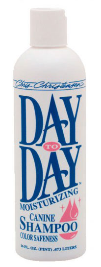 Шампунь увлажняющий  (концентрат 1:8) Chris Christensen Day to Day Moisturizing, 473мл