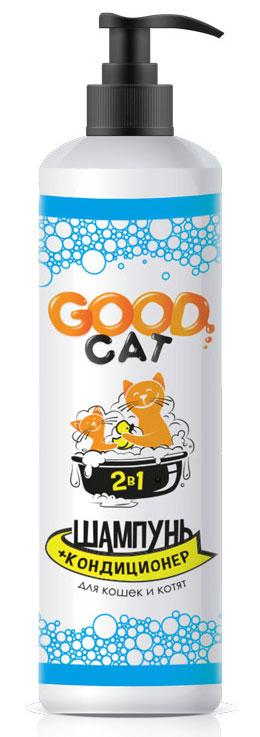 Шампунь-кондиционер для кошек и котят GOOD CAT FG02216, 250мл