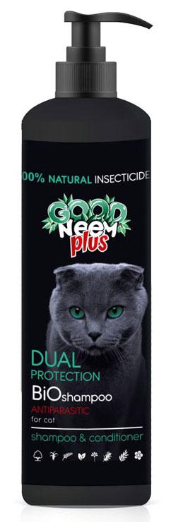 Антипаразитарный БИОшампунь для кошек и котят GOOD NEEM Plus FG02218, 250мл