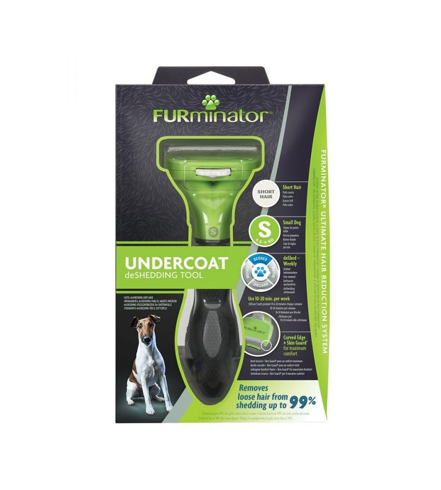 Фурминатор для мелких собак с короткой шерстью, FURminator S