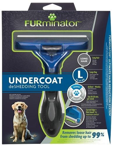 Фурминатор для крупных собак с длинной шерстью, FURminator L