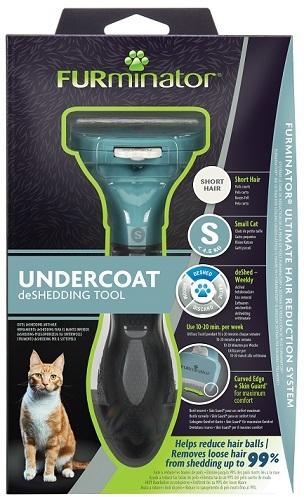 Фурминатор для маленьких кошек c короткой шерстью FURminator S