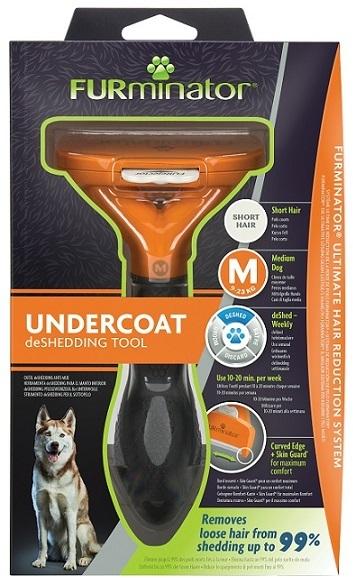 Фурминатор для средних собак с короткой шерстью, FURminator M