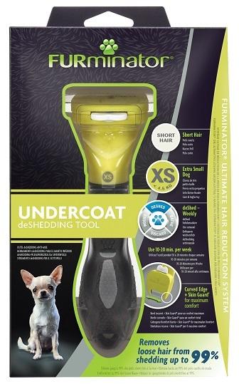 Фурминатор для карликовых собак с короткой шерстью, FURminator XS