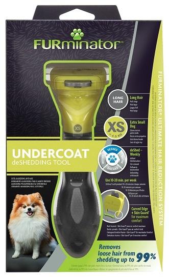 Фурминатор для карликовых собак с длинной шерстью, FURminator XS