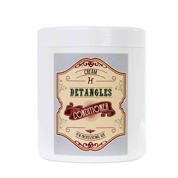 Крем антиколтунный восстанавливающий (концентрат 1:10) H-Project Detangles Cream, 1л
