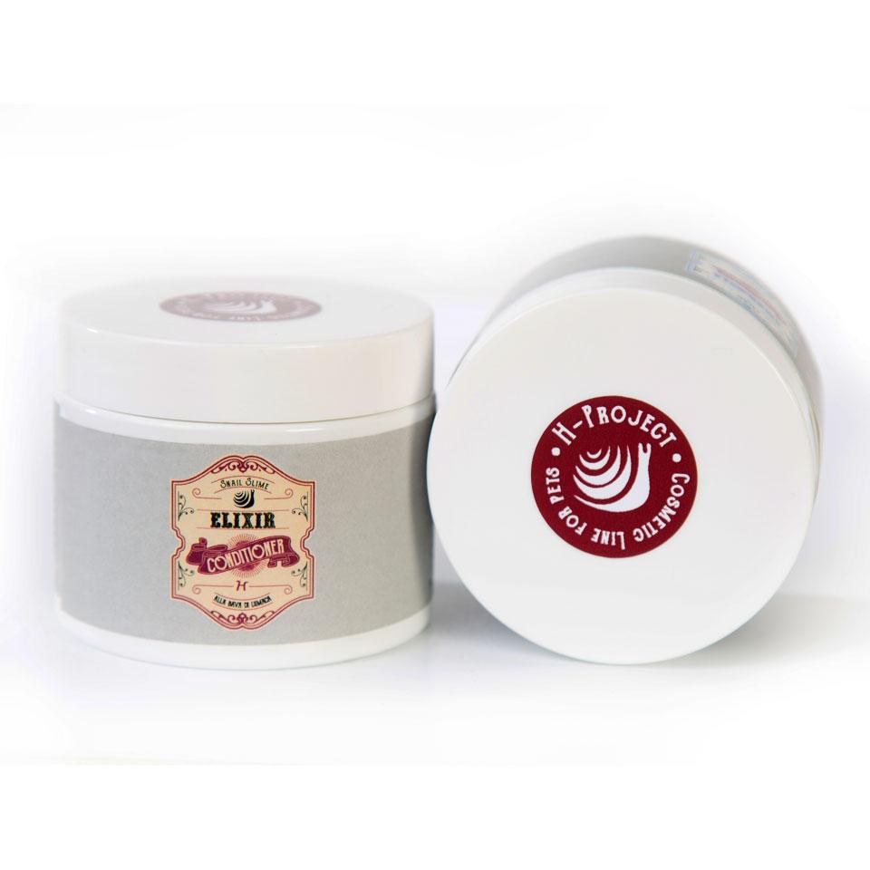 Кондиционер с муцином улитки (концентрат 1:10) H-Project Elixir Cream, 150мл