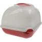 Туалет для кошек угловой с фильтом и совком (50х50х45см), Imac Ginger