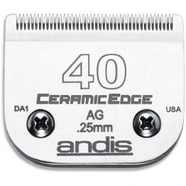 Нож керамический Andis CeramicEdge  #40 (0,25мм), стандарт А5