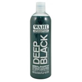 Шампунь для яркости цвета шерсти (концентрат 1:15) Wahl Deep Black, 500мл
