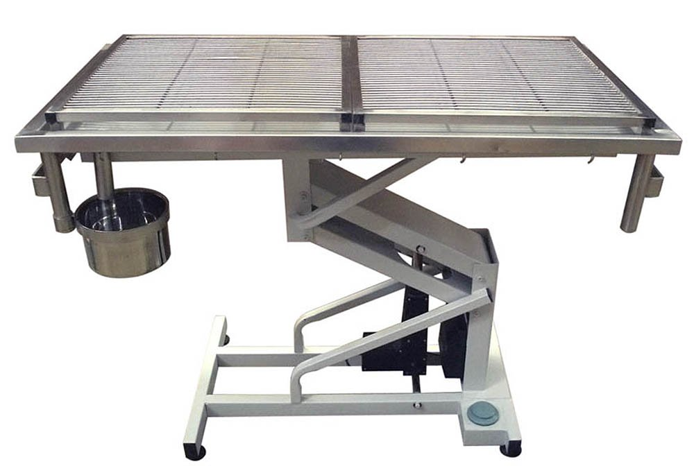 Стол ветеринарный операционный с электроподъёмником № 203