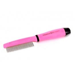 Расчёска MasterGroom с гелевой ручкой, частые зубцы (Подарок!)