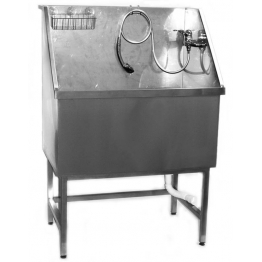 Ванна для груминга MasterGroom малая, металлическая (нержавейка)