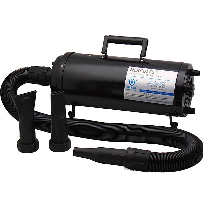 Фен для груминга, переносной двухмоторный HERCULES, 2400Вт