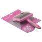 Пуходерка пластик с каплей большая DeLIGHT ROSE 368210LR