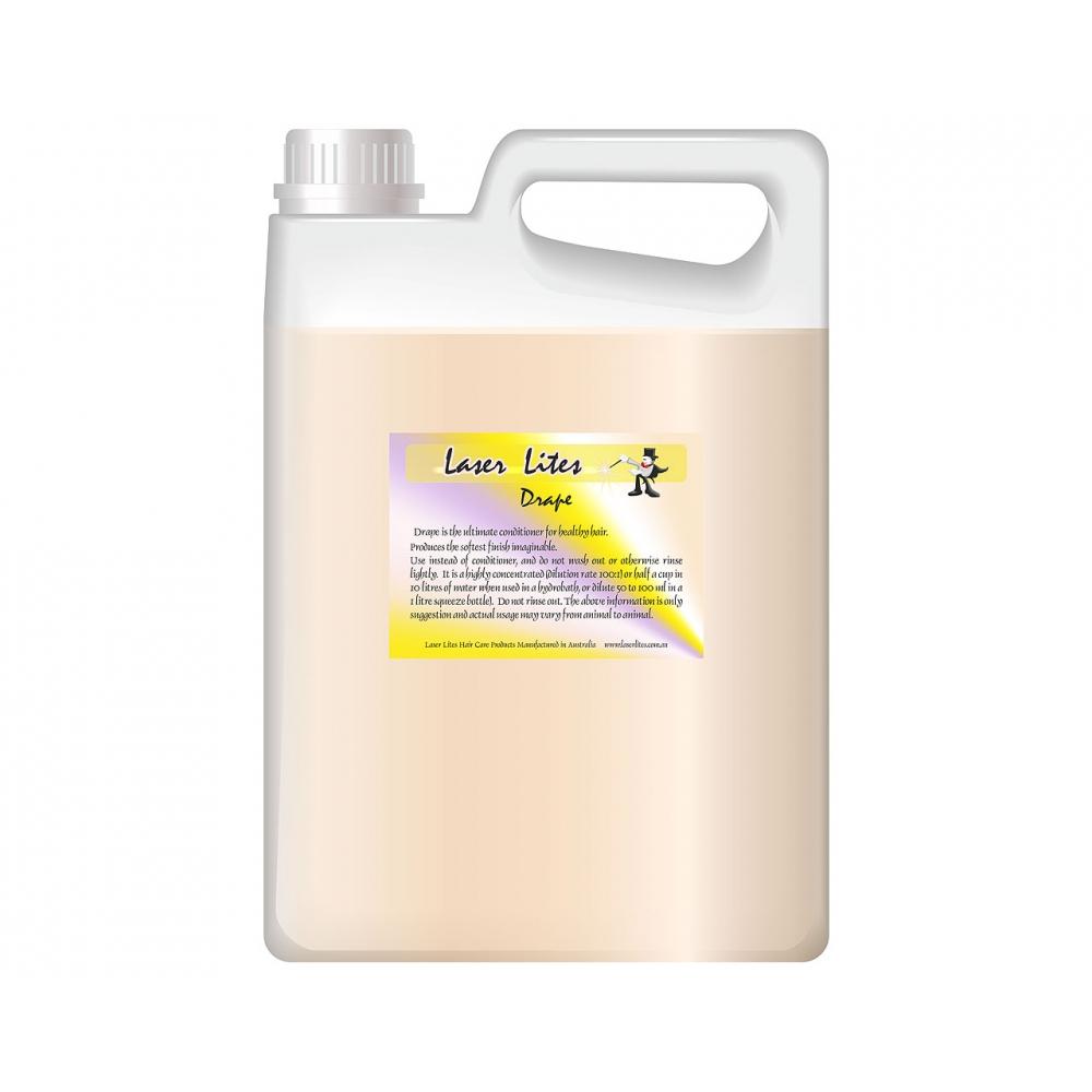 Кондиционер для густой шерсти (концентрат 1:20) Laser Lites Drape, 4л