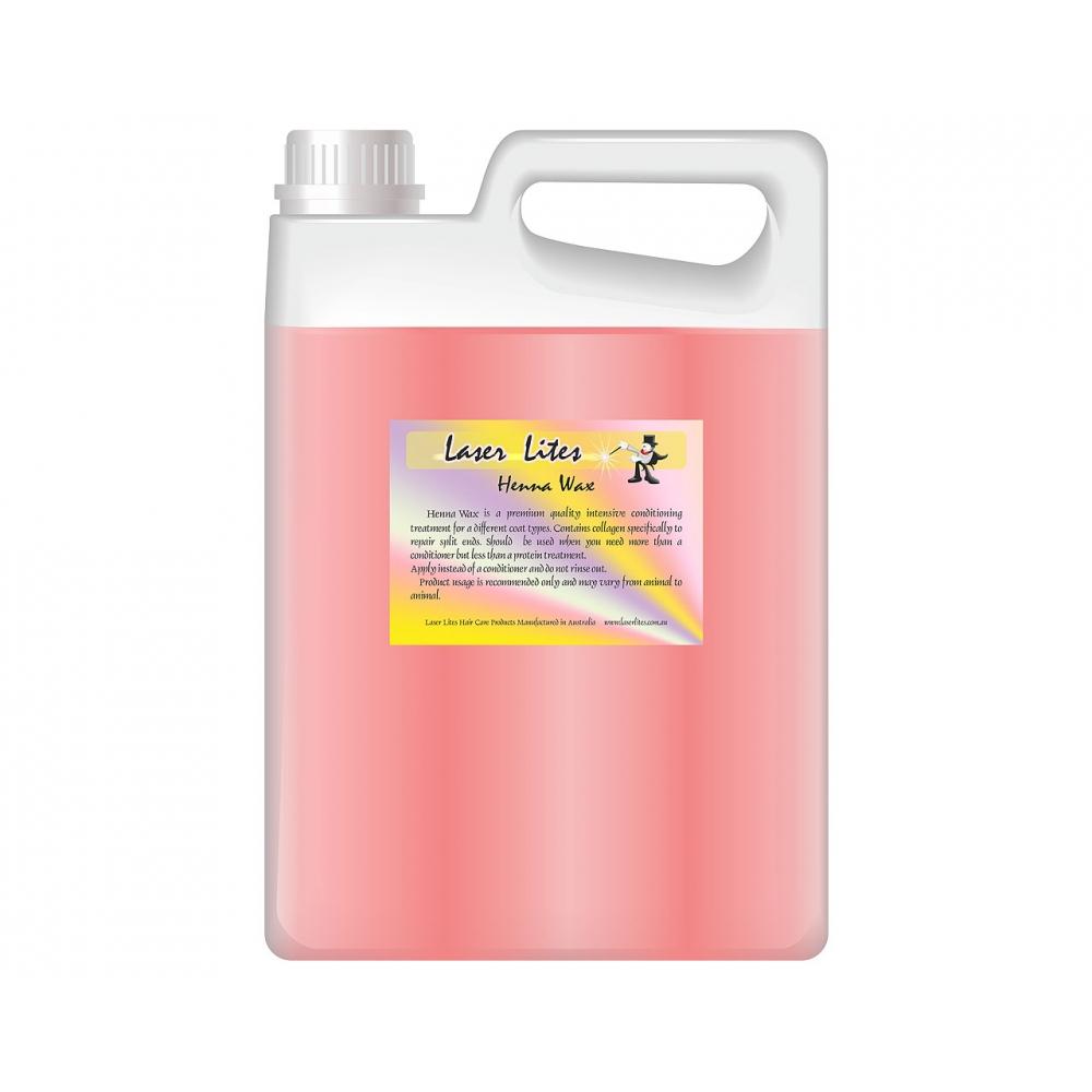 Кондиционер с воском (концентрат 1:20) Laser Lites Henna Wax, 4л