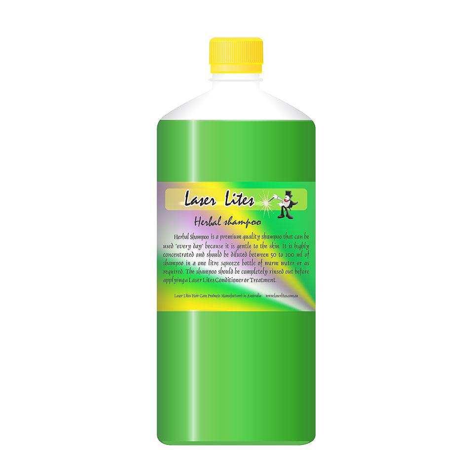 Шампунь травяной (концентрат 1:20) Laser Lites Herbal, 1л