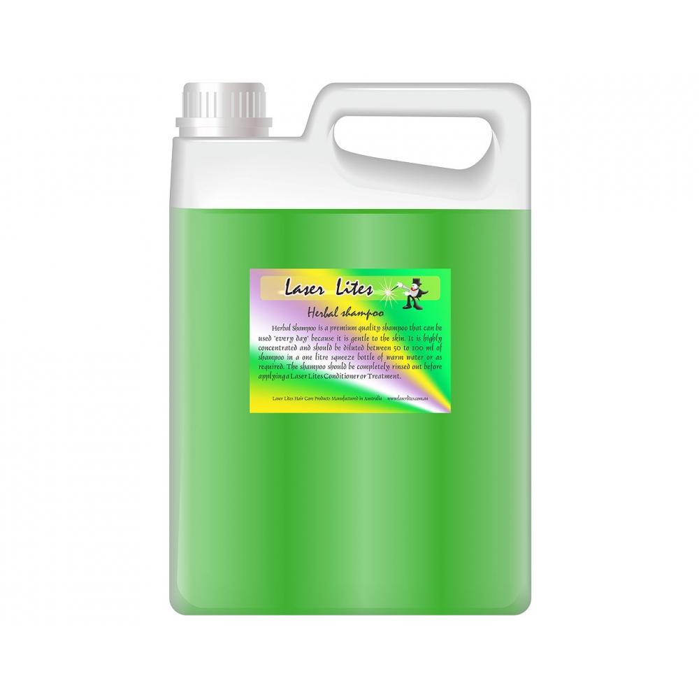 Шампунь травяной (концентрат 1:20) Laser Lites Herbal, 4л