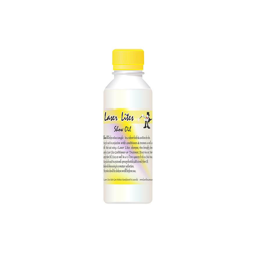 Масло для шерсти, минеральное (концентрат 1:100) Laser Lites Show Oil, 100мл