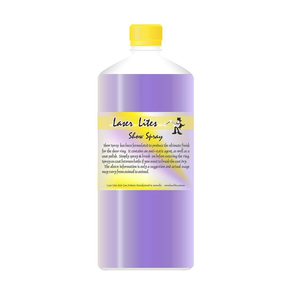 Спрей для выставок Laser Lites Show-spray, 1л