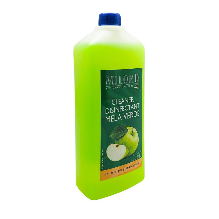 Дезинфицирующее чистящее средство (концентрация 1:10), Milord Mela Verde, 1л