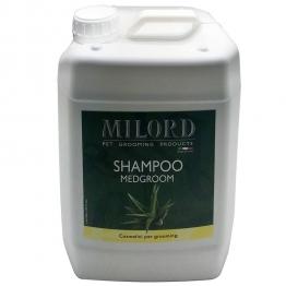 Шампунь с хлоргексидином для животных (концентрат 1:10) Milord Medgroom, 5л