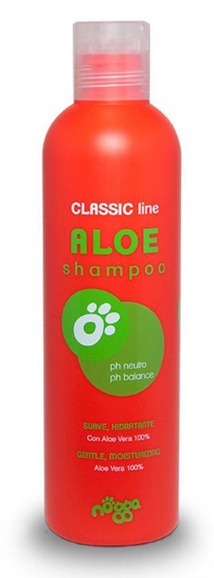 Шампунь с Алоэ Вера для всех типов шерсти (концентрат 1:10) Nogga Aloe, 250мл