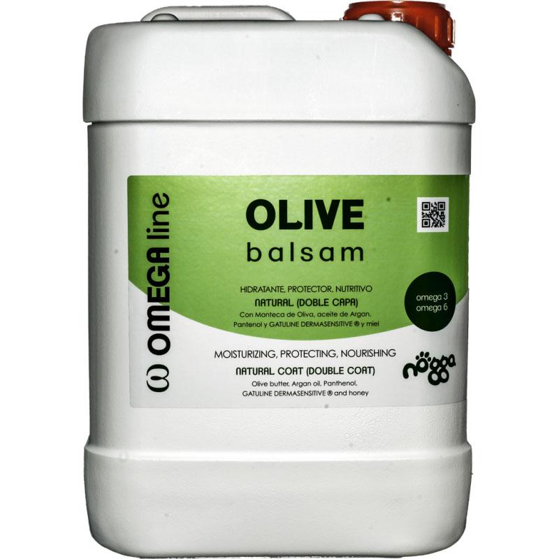 Бальзам питательный с маслом оливы для объема (концентрат 1:10) Nogga Olive, 5л