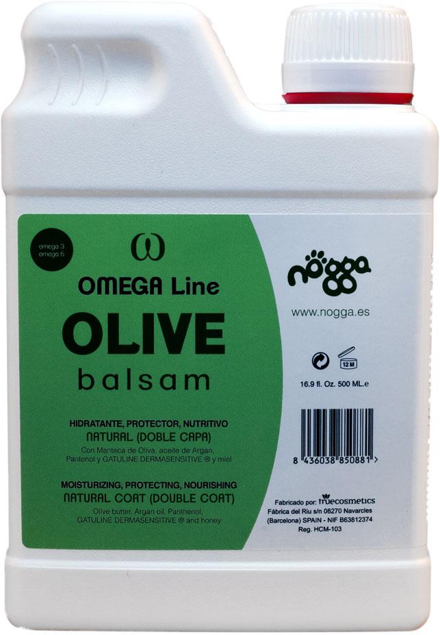Бальзам питательный с маслом оливы для объема (концентрат 1:10) Nogga Olive, 500мл
