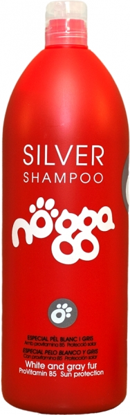 Шампунь для собак, восстановление цвета (концентрат 1:10) Nogga Silver, 1л