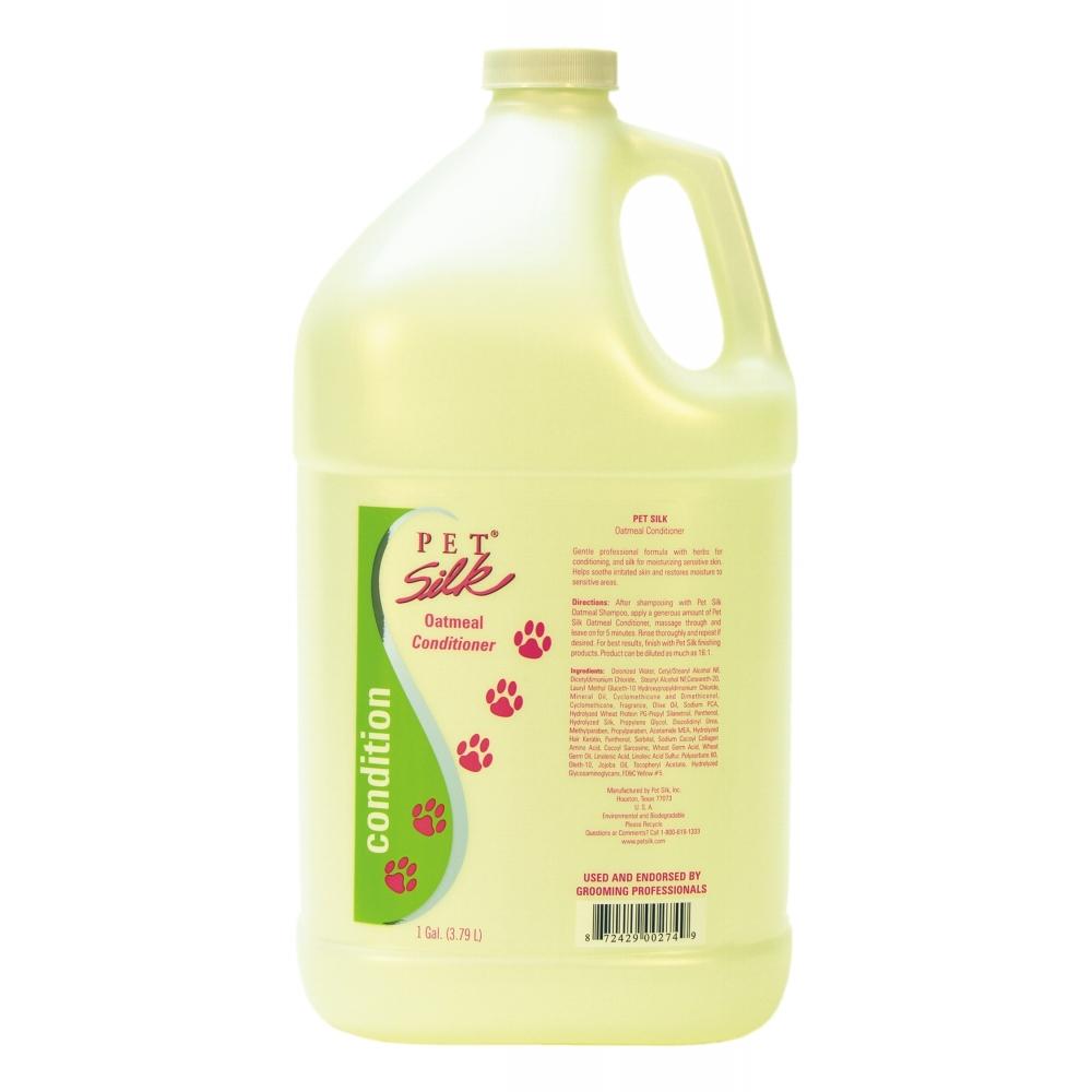 "Кондиционер ""Овсянка"" (концентрат 1:16) Pet Silk Oatmeal, 3.8л"
