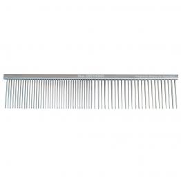 Расческа с частыми и редкими зубьями 19 см, Show Tech Greyhond Bronze Comb 26STE006