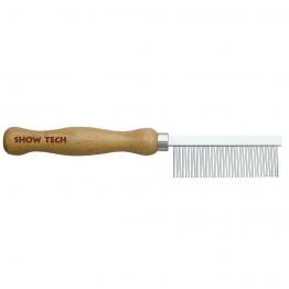 Расческа с деревянной ручкой 18см, Show 26STE033(015)