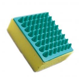 Щетка квадратная резиновая с поролоновой губкой, Show Tech 28STE001